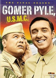 Gomer Pyle Usmc poster Metal Sign Wall Art 8in x 12in