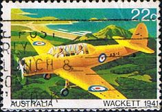 Australia 1980 Aircraft SG 761 Fine Used Scott 759 Aviation World, Commemorative Stamps, Stamp Collecting, Postage Stamps, Vintage Posters, Planes, Empire, Aircraft, Commonwealth