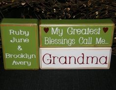 Nana gift~a little bigger though~11 grandkids. mothers day, nana gift, gift idea