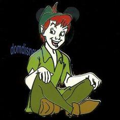 Disney Pin Peter Pan Character Series Peter Sitting Smiling | eBay