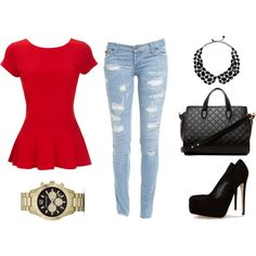 simple outfit for saturdays