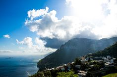 When in Capri (Amalfi Coast): hike up to the big round hole in the mountain above Positano, and enjoy the views down on Positano
