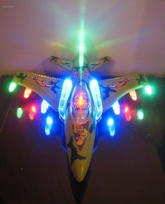 The WolVol Electric F-16 Military Fighter Jet Plane is built with high speed wheels and beautiful flashing LED lights. It will drive as if a human is driving it. It is the perfect idea for Gifts, Birthday Presents, Christmas Gifts, etc. #wolvol #Gift #jet