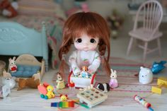 Beautiful semi BJD Custom Egg BJD resin custom doll made by Stodoll size Doll Wigs, Bjd Dolls, Cute Images For Dp, Lovely Eyes, Tiny Dolls, Doll Stands, Bitty Baby, Custom Dolls, Beautiful Dolls
