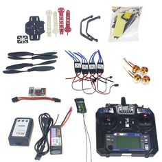 JMT Full Set RC Drone Quadrocopter 4-axis Aircraft Kit F330 MultiCopter Frame QQ Super Flight Control Flysky FS-i6 Transmitter