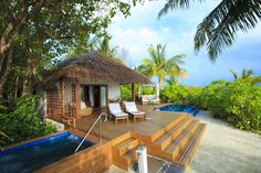 Privacy and barefoot luxury