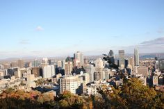 #Montreal #MountRoyal #Montrealview #montreallife #summit Of Montreal, Quebec, San Francisco Skyline, Places To Visit, Good Things, Travel, Life, Viajes, Quebec City