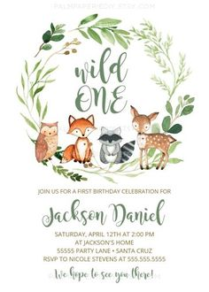 Woodland themed Baby Shower Invitations Best Of Woodland Baby Shower Invitation . - Woodland themed Baby Shower Invitations Best Of Woodland Baby Shower Invitation Boy Gender Neutral - Baby Shower Decorations For Boys, Boy Baby Shower Themes, Baby Shower Invites For Girl, Baby Invitations For Boys, Birthday Invitations, Woodland Baby, Woodland Animals, Woodland Theme, Woodland Creatures