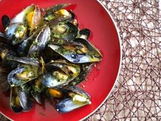A Big Bowl of Garlicky Mussels with Curry Cream — Three Many Cooks