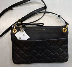 Black & Gold are a match made in heaven – Pick up this #MarcByMarcJacobs cross body bag & all your accessories today! #Glam   www.platosclosetbrampton.com
