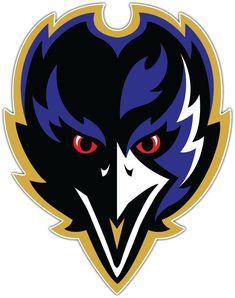 x team NFL Logo Baltimore Ravens Fathead Wall Graphics vinyl sticker Baltimore Ravens Logo, Baltimore Maryland, Ravens Players, Raven Logo, Raven Tattoo, Nfl Logo, Nfl Football, Football Names, Football Humor