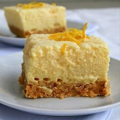 Light Lemon Fridge Tart with Biscuit Crust - South African ♡
