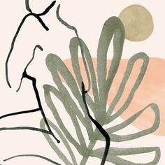 Illustration by ohkii studio. Art Inspo, Kunst Inspo, Art And Illustration, Illustrations, Art Graphique, Painting & Drawing, Line Art, Design Art, Modern Art