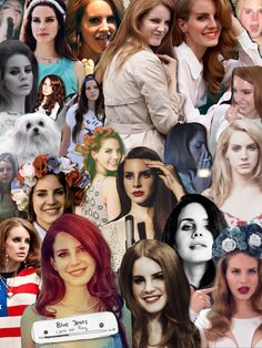 Lana Del Rey #LDR I find a false sense of inspiration from her for some reason. And I can't comprehend why.