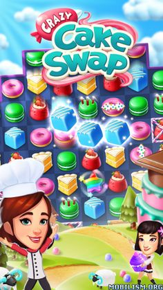 Crazy Cake Swap v1.22.0 (Mod)Requirements: 4.1 +Overview: Swap cakes in a crazy match-3 adventure starring YOU and YOUR friends! Escape to a crazy world where streets are filled with treats and YOU are the star baker. Satisfy...