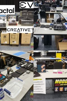 Modders Inc is at FITESCon 300 Man LAN and Convention this weekend. We are bringing back case modding contests to the USA. The team will be demonstrating different techniques about how to create a case mod with hands-on demos. We want to say thanks to #EVGA , #Fractal Design and#CreativeLAB for sponsoring us!