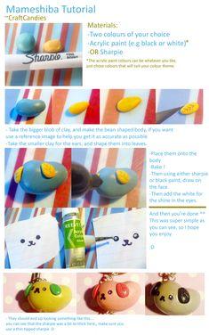 Polymer Clay : Mameshiba Tutorial by CraftCandies.deviantart.com on @deviantART