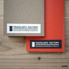Midori Letter press Traveler's Factory Stickers by niconecozakkaya on Etsy