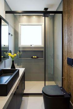 Washroom Design, Bathroom Design Layout, Bathroom Design Luxury, Modern Bathroom Design, Home Building Design, Home Room Design, Minimalist Toilets, Minimal House Design, Bathroom Renovations