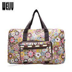 접이식 인쇄 여행 가방 2016 새로운 방수 가방 휴대용 토트 가방 여성 여행 가방 6 색