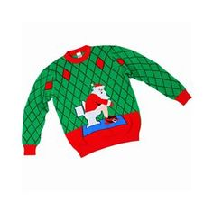 Toilet Santa Child Ugly Christmas Sweater - 408141 | trendyhalloween.com