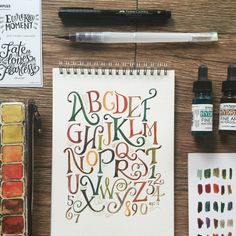 A compilation of my personal + commercial lettering work this 2015.