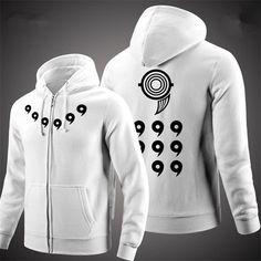 Men Women Anime Coat NARUTO Ootutuki Hagoromo Cosplay Jacket Hoodie Clothing Casual