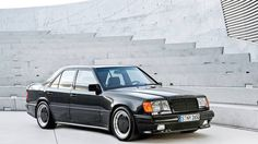 1986 Mercedes-Benz W124 Hammer In the mid-1980s, a Mercedes tuner best known for wide-body kits and fancy wheels debuted its first complete car, a $120,000 big-block V8 conversion of a $40,000 E-Class sedan. It made no sense; it seemed stupid. It was actually brilliant. It was a five-second car and a Lamborghini competitor, and it's the reason AMG is a Mercedes division today.