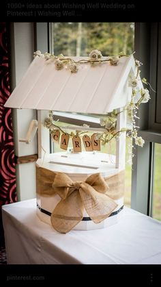 Wedding Letterbox Good For Wedding Cards Or Guest Book Post