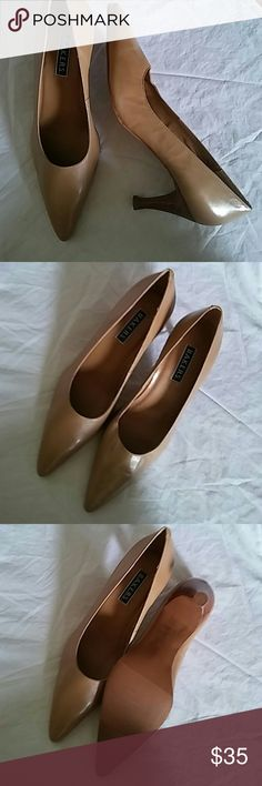 Bakers Lauren Heels Sz 9M Genuine Leather 3in. Heels Bakers Shoes Heels