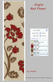 GioGio&Co: Griglia Red Flower