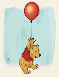 Adorable Winnie the Pooh piece by #PaulBriggs