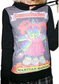 Iron Fist Garbage Pail Kids Martian Marcia Hoodie   Dolls Kill