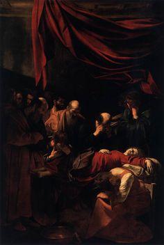 """Caravaggio, Michelangelo Merisi – """"Morte della Vergine"""" (1604)"""