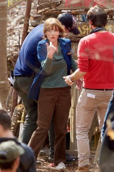 On Set - March 01, 2016 - HQ 007 - Winona Forever Photo Gallery | part of Winona-Ryder.org Netflix Series, Series Movies, Joyce Byers, Winona Forever, Mike And Mike, Winona Ryder, Fan Girl, On Set, Stranger Things
