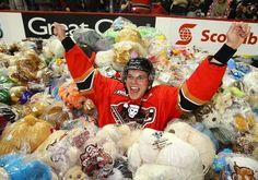Hockey's Teddy Bear Toss