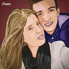 """""""Every time i see you I fall in love all over again"""" 💜 - - - - - - - #look #my #couple #illustration #barbie #portrait #lovers #adobe #graphics #design #finishedproduct #finished #vector #photography #amazing #work #creativity #artworks #artist #pretty #princess #girl #blonde #colors #red #blue #beautiful #smile #daily #artoftheday Follow @danies__art 📲 Princess Girl, Princess Zelda, Disney Princess, See You, You And I, I Fall In Love, Falling In Love, Couple Illustration, Beautiful Smile"""