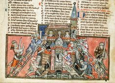 The Presentation of the Franks in Selected Muslim Sources from the Crusades of the 12th Century » De Re Militari A 14th-century depiction of the crusaders' capture of Antioch from a manuscript in the care of the National Library of the Netherlands