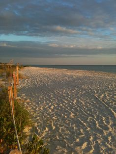 ☼ Sanibel Island, Florida ☼ — Miles of unspoiled Paradise at Bowman's Beach.