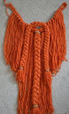 Crochet Manly Viking Detachable Beard  by TMedlockDesign, $25.00