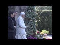 ▶ Visit Pope Benedict at the Apostolic Palace - YouTube