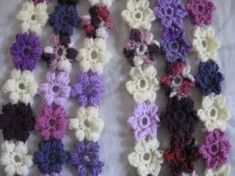 Puff Flower Scarf - Meladora's Creations Free Crochet Patterns & Tutorials
