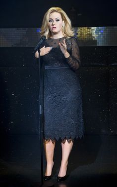 Adele - Wax figure of Adele at Madame Tussauds in London, England. (July 3, 2013)