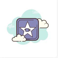 Hero Wallpaper, Iphone Wallpaper, Kawaii App, Cloud Icon, Cute App, Ios App Icon, App Icon Design, App Covers, App Logo