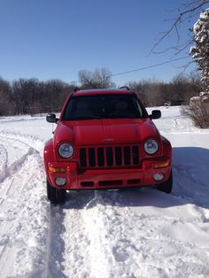 My Jeep Rocks!!! I only thought I might be stranded with a foot of snow on the ground. Never underestimate the power of a Jeep..