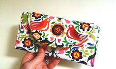 SALE La Paloma Wallet // Folklorico Wipe Clean Wallet by SewSofia