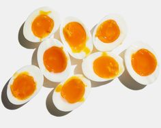 // Jammy Soft-Boiled Eggs