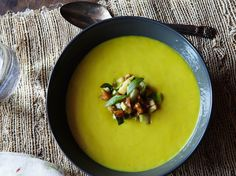 Parsnip Soup With Apples and Walnuts From 'Marcus Off Duty'