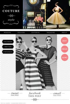 Dear Miss Modern - Blog Sugar Couture