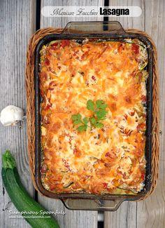 » Mexican Zucchini Lasagna Sumptuous Spoonfuls